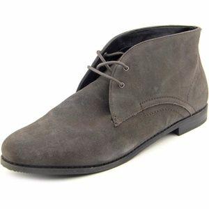 Franco Sarto Leather Portier Chukka Ankle Booties